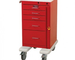 Harloff AL3245B Aluminum Mini Line Emergency Cart