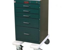 Harloff AL3245K Mini Line Aluminum Anesthesia Cart