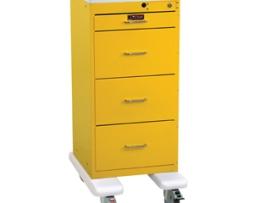 Harloff 3254K Mini Line 4 Drawer Isolation Cart