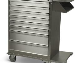 Harloff 6020 Cast Cart Stainless Steel Eight Drawer