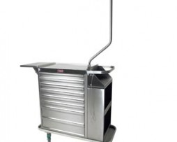 Harloff 6025 Stainless Steel Cast Cart