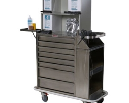 Harloff 6025-TC Stainless Steel Cast Cart
