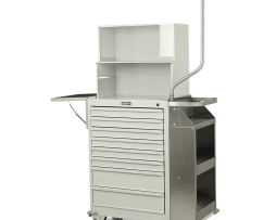 Harloff 6035-TC Cast Cart Eight Drawer Deluxe Package