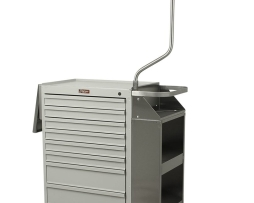 Harloff 6035 Cast Cart Deluxe Package Five Drawer