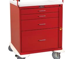 Harloff 6300 Emergency Cart Classic Series Four Drawer