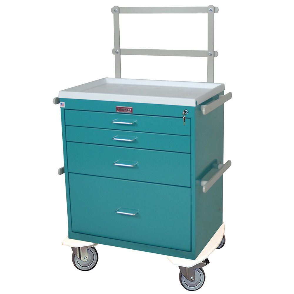 Harloff 6351 Classic Line Anesthesia Cart Workstation On Sale
