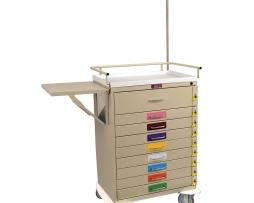 Harloff 6401PEC Pediatric Emergency Cart Nine Drawer