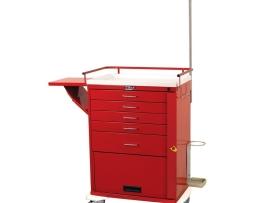 Harloff 6403 Emergency Cart Classic Series Five Drawer