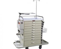 Harloff 6411PEC Pediatric Resuscitation Emergency Cart