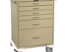 Harloff 6450 Classic Line Six Drawer Procedure Cart