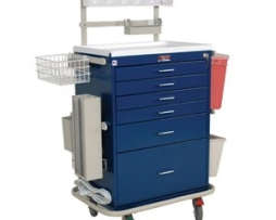 Harloff 6456 Classic Deluxe Tall Anesthesia Cart