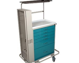 Harloff 6457 Classic Tall Difficult Airway Cart