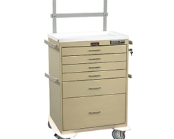 Harloff 7451E Classic Tall Anesthesia Cart