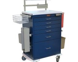 Harloff 7456E Classic Tall Anesthesia Workstation Cart