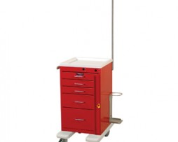Harloff AL3245B-EMG Aluminum Mini Line Emergency Cart