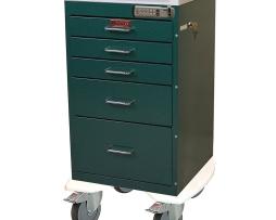 Harloff AL3245E Aluminum Mini Line Anesthesia Cart