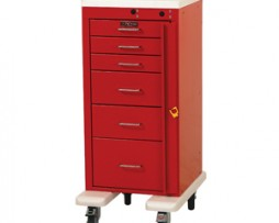 Harloff AL3256B Aluminum Mini Line Emergency Cart