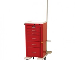 Harloff AL3256B-EMG Aluminum Mini Line Emergency Cart