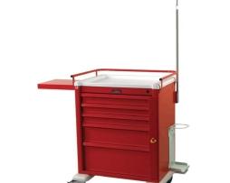 Harloff AL808B5-EMG Universal Line Aluminum Emergency Cart