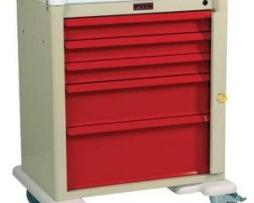 Harloff AL808B5 Universal Line Aluminum Emergency Cart