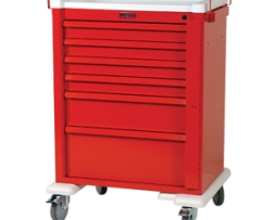 Harloff AL809B6 Universal Line Aluminum Emergency Cart