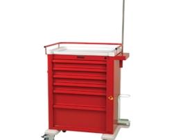 Harloff AL809B6-EMG Universal Line Aluminum Emergency Cart