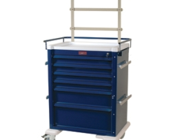 Harloff AL809K6-ANS Universal Line Anesthesia Cart