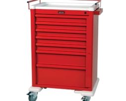 Harloff AL810B7 Universal Line Aluminum Emergency Cart
