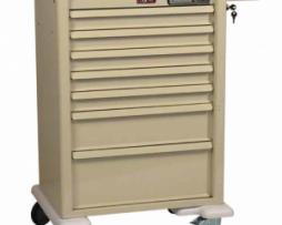 Harloff AL810E7 Universal Line Aluminum Anesthesia Cart