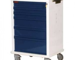 Harloff MR6K MR-Conditional 6 Drawer Anesthesia Cart
