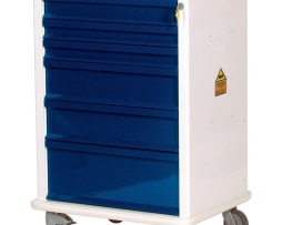 Harloff MR6K Anesthesia Cart MR-Conditional Six Drawer