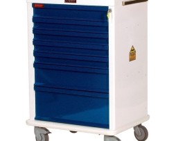 Harloff MR7K Anesthesia Cart MR-Conditional Seven Drawer
