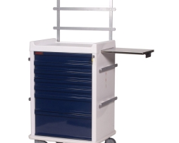 Harloff MR7K-MAN Anesthesia Cart MR-Conditional Seven Drawer