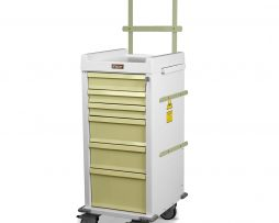 Harloff MRN6K-MAN Anesthesia Cart MR-Conditional Six Drawer
