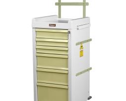 Harloff MRN6K-MAN Anesthesia Cart MR-Conditional Six Drawer
