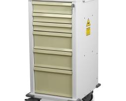 Harloff MRN6K Procedure Cart MRI-Compatible Six Drawer