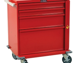 Harloff V24-4B V-Series 4 Drawer Emergency Crash Cart