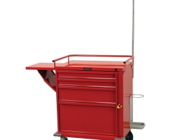 Harloff V24-4EMG V-Series 4 Drawer Emergency Crash Cart