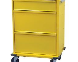 Harloff V30-3K V-Series 3 Drawer Isolation Infection Cart