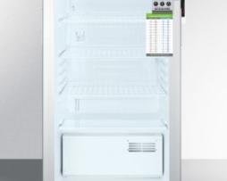 Summit SCR450LBIMEDDTADA Undercounter Medical Refrigerator