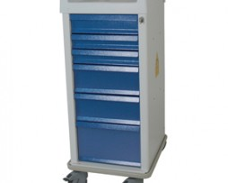 Harloff MRN6K MRI-Compatible 6 Drawer Procedure Cart
