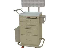 Harloff 3245LPB Mini Line Phlebotomy Treatment Cart
