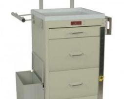 Harloff 3254BPB Mini Line Phlebotomy Treatment Cart