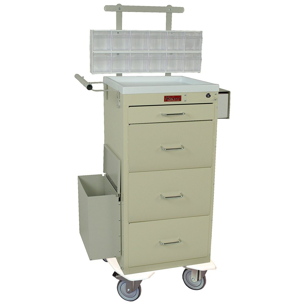 Harloff 3254kpb Mini Line Phlebotomy Treatment Cart On Sale