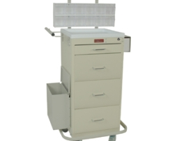 Harloff 3254KPB Mini Line Phlebotomy Treatment Cart