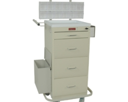 Harloff 3254LPB Mini Line Phlebotomy Treatment Cart