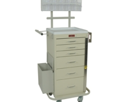 Harloff 3256BPB Mini Line Phlebotomy Treatment Cart