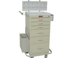 Harloff 3256KPB Mini Line Phlebotomy Treatment Cart