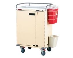 Harloff 6221 Classic Series Treatment Cart 24 Bins