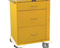 Harloff 6500 Infection Control Cart Classic Line Three Drawer